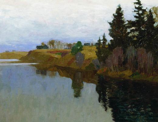 Isaac Levitan. Lake