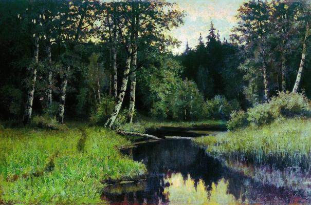 Efim Efimovich Volkov. River