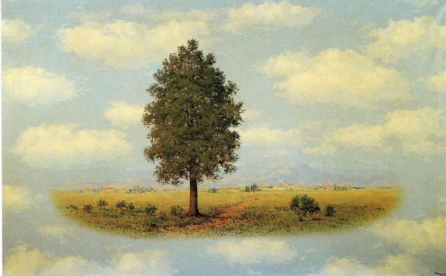 René Magritte. Territory