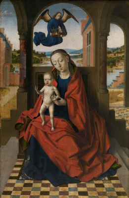Petrus Christus. Virgin with the baby