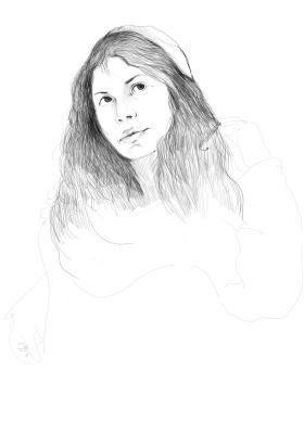 Sinchinov. Portrait