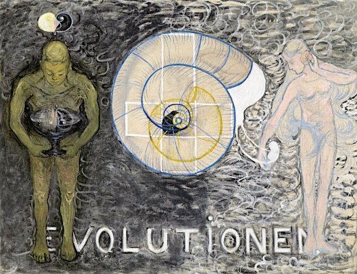 "Hilma af Klint. Series ""Evolution"", №4"