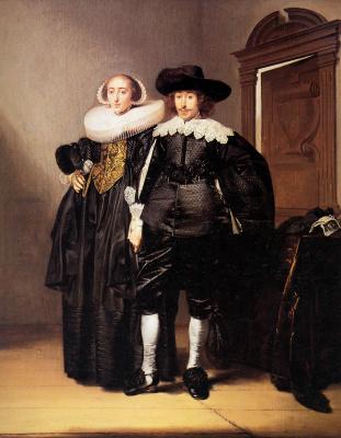 Питер Кодде. Портрет супружеской пары