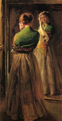 Джозеф Декамп. Отражение в зеркале