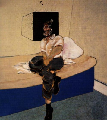 Francis Bacon. Study for self-portrait