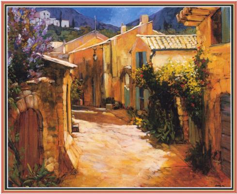 Филипп Крейг. Сельская улица, Тоскана