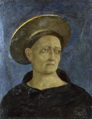 Доменико Венециано. Портрет святого