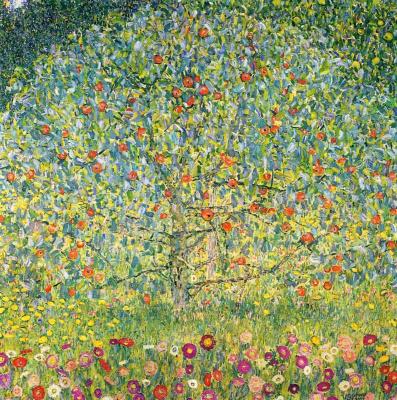 Густав Климт. Яблоня  I