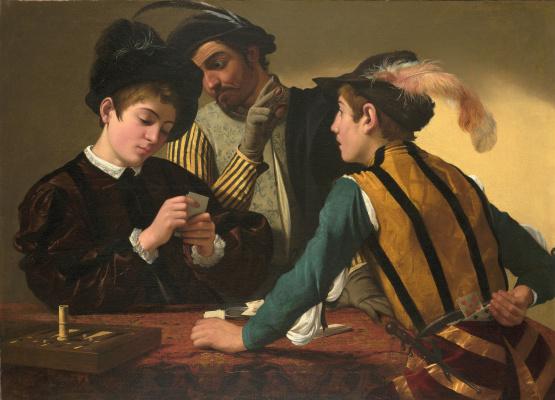 Микеланджело Меризи де Караваджо. Шулера
