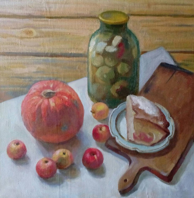 Svetlana Sergeevna Kozlobrodova. The taste of autumn. Still life.