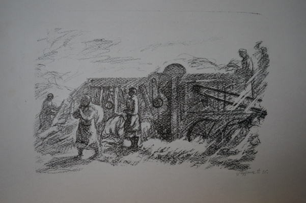 Petr Vasilyevich Luzgin. Field work