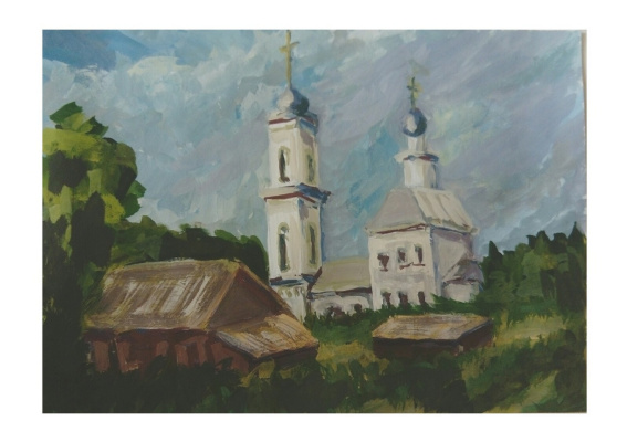 "Ivan Olegovich Kuzin. ""Church"""