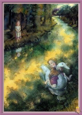 Моник Феликс. Иллюстрация к сказке Гансель и Гретель 13
