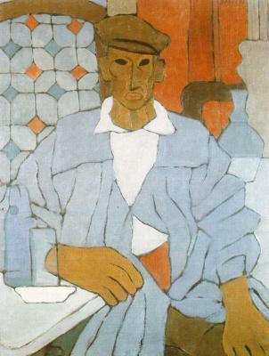 Рафаэль Баррадас. Мужчина в кепке
