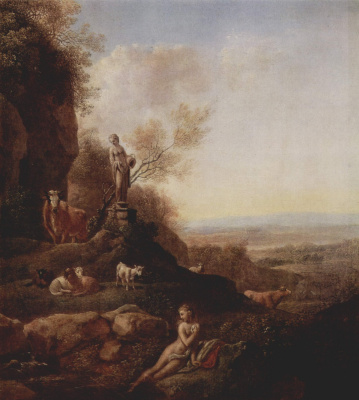 Иоганн Кристиан Кленгель. Итальянский пейзаж