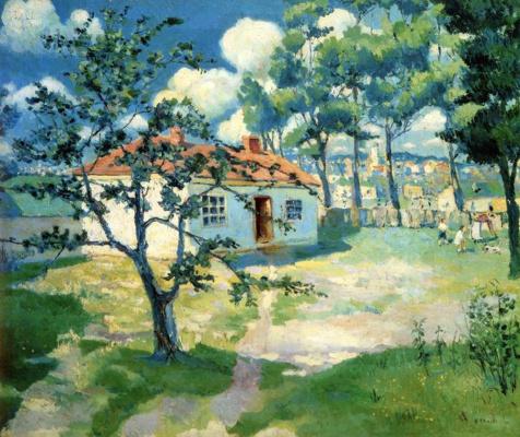Kazimir Malevich. Spring