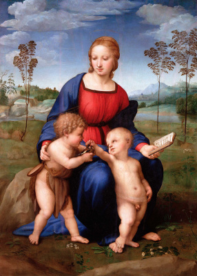 Raphael Sanzio. Madonna with goldfinch