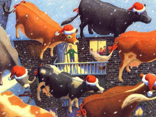 Даниэль Лейн. Рождественские коровы 3