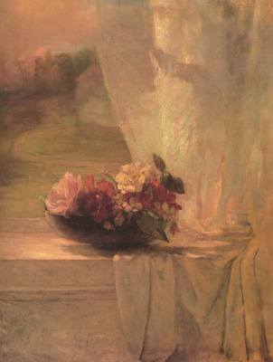 Джон Лафарг. Цветы