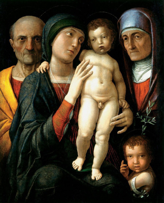 Андреа Мантенья. Святое семейство