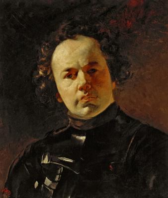 Karl Pavlovich Bryullov. Portrait of the artist J. F., Yanenko in armour
