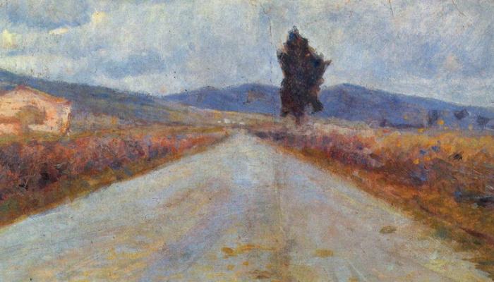 Amedeo Modigliani. Tuscan road