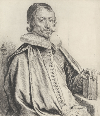 Jan Livens. Portrait of pastor Caspar Streso