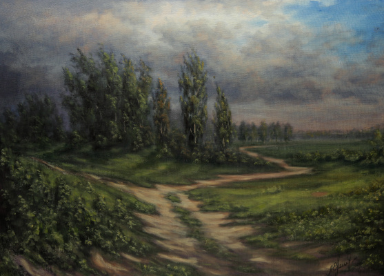 Valery Levchenko. No. 155 Before the rain