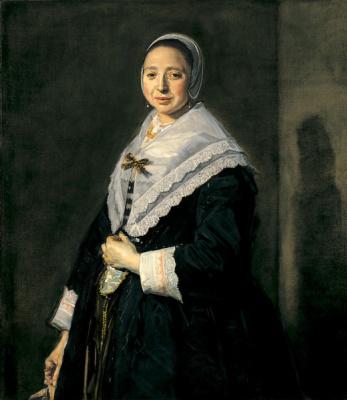 Франс Хальс. Портрет женщины