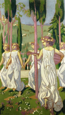 Maurice Denis. Dancers