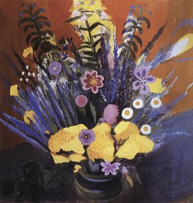 Мартирос Сергеевич Сарьян. Цветы Армении (Степные цветы)