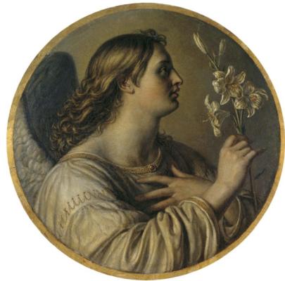 Alexander Grigorievich Varnek. Archangel Gabriel. Near the State Russian Museum, St. Petersburg