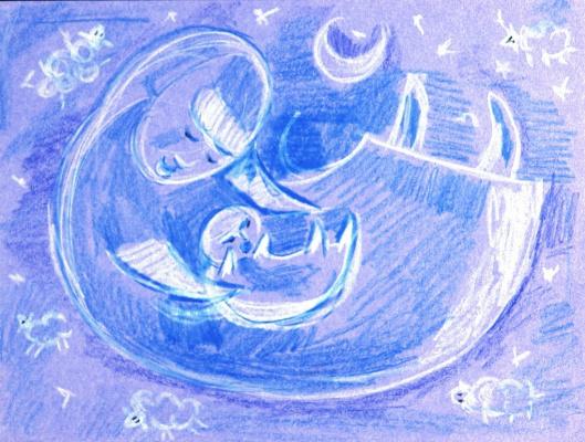 Elena Rein. Blue.Lullaby