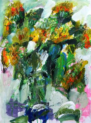 Ilya Pavlovich Spichenkov. Sunflowers
