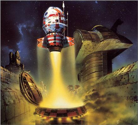 Крис Фосс. Космическая станция