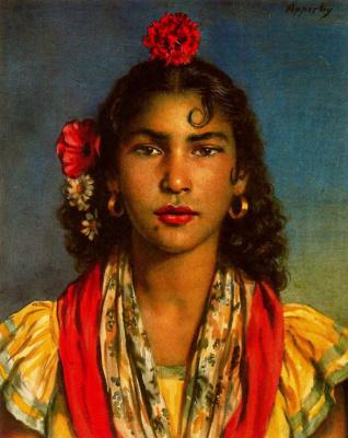 Джордж Оуэн Винн Апперлей. Цыганская танцовщица