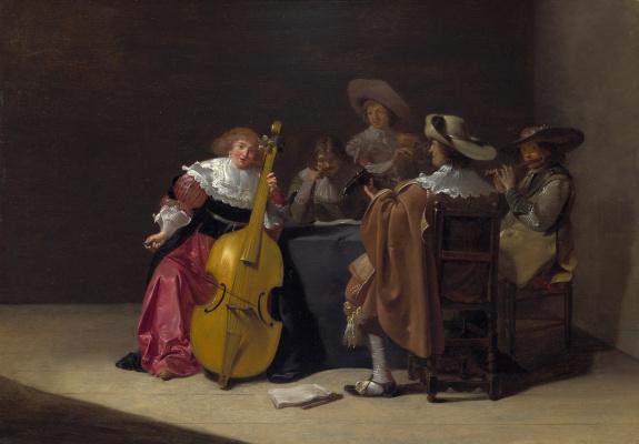 Ян ван Олис. Музыкальная партия