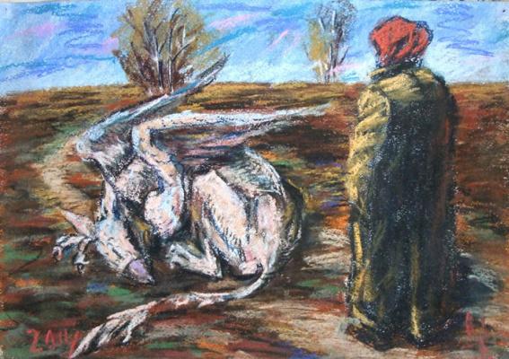 Шишкин  Н.В.. Бабушка и грифон