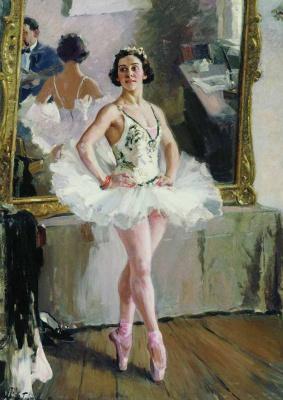 Alexander Mikhailovich Gerasimov. Portrait of the ballet dancer Olga Lepeshinskaya