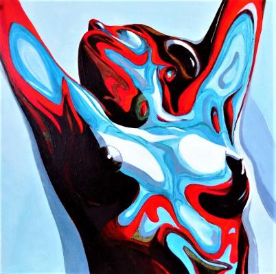 Alex Visiroff. Colorful fluidity