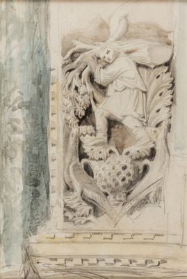 John Ruskin. Sculpture of the Church of San Marco, Venice