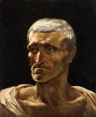 Théodore Géricault. Portrait of a Shipwreck
