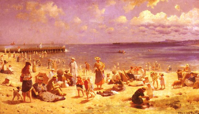 Гораций Ван Труит. Пляжная сцена