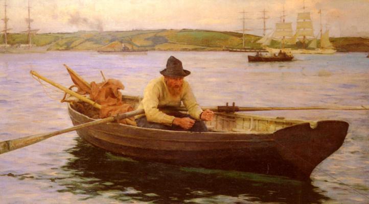 Генри Скотт Тьюк. Рыбак