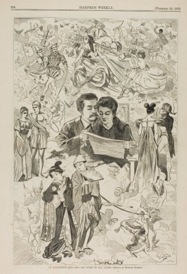 Winslow Homer. Valentine's Day