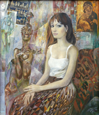 Rinat Salimzyanovich Khanafeev. Female student