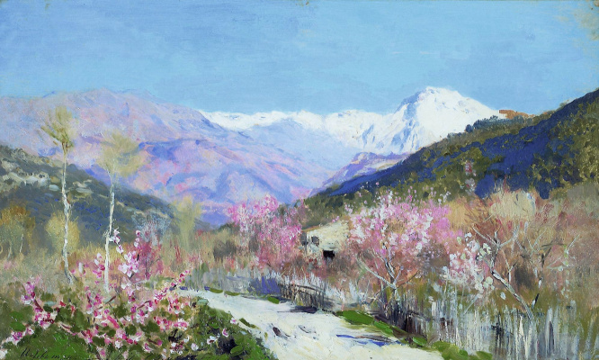 Isaac Levitan. Spring in Italy