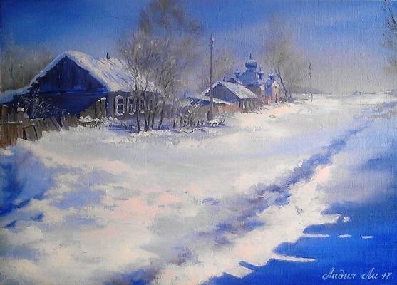 Lydia Lee. Triptych Zimushka-Zima