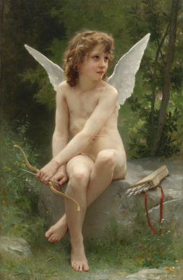 Cupid in search of a purpose. 1890