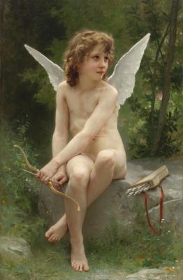 Амур в поисках цели. 1890